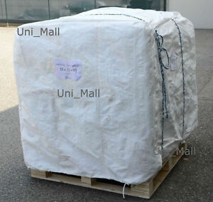 New 180 Pcs Bulk Bag 35x35x50 Fibc sack Ton Bag 4000lb Swl by Pallet