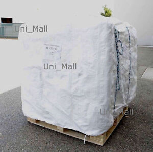 New 230 Bulk Bag 35x35x43 Fibc sack Ton Bag 3000lb Swl by Pallet