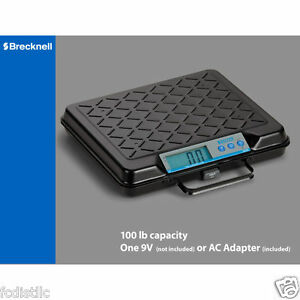 Brecknell Digital Shipping Postal Scale Portable 100lb