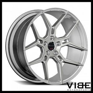 20 Giovanna Haleb Silver Concave Wheels Rims Fits Bmw F12 F13 640 650 Coupe