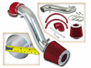 Short Ram Air Intake Kit Red Filter For 93 98 Jeep Cherokee 4 0l L6