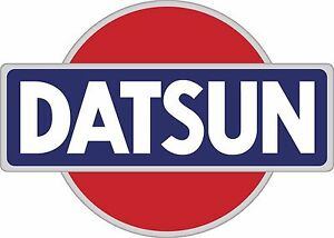 Datsun Racing Vintage Vinyl Decal Sticker Logo