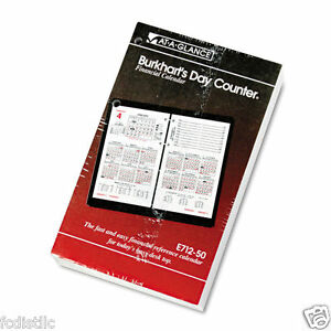 At a glance Burkhart s Day Counter 2016 Desk Calendar Refill