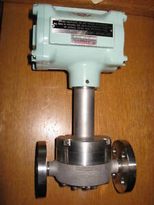Oval Gear Flow Meter Brooks Broady Engineering Lc454 630 c118 000 New Flanged
