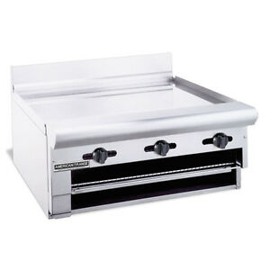American Range Argb 24 Counter Model 24 Inch Manual Control Gas Raised Griddle