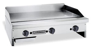 American Range Armg 60 Counter Unit 60 Inch Manual Gas Griddle With Steel Plat