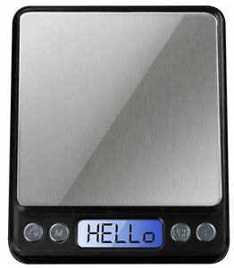 Digital Balance Pocket Scale 500g X 0 01g Lifetime Warranty Free Weigh Paper