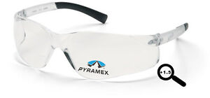 Bifocal 1 5 Pyramex Ztek Clear Safety Glasses Lot Of 6