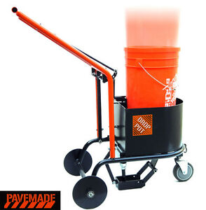 pavemade Drop Pot Cold Pour Asphalt Crack Filling Cart Sealcoating