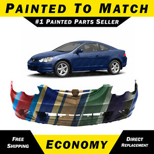New Painted To Match Front Bumper Cover For 2002 2003 2004 Acura Rsx Coupe 20 Fits Acura Rsx
