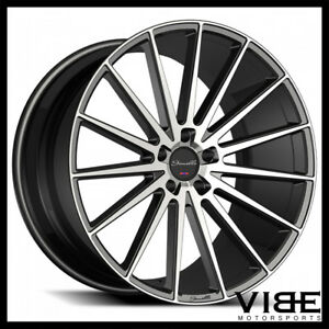 22 Gianelle Verdi Machined Concave Wheels Rims Fits Dodge Charger Se Srt8