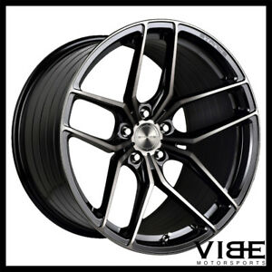 19 Stance Sf03 19x8 5 Black Forged Concave Wheels Rims Fits Audi C5 A6