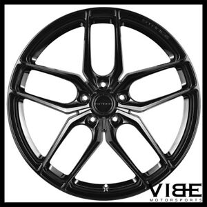 19 Stance Sf03 19x9 5 Gloss Black Forged Concave Wheels Rims Fits Audi B8 A5 S5