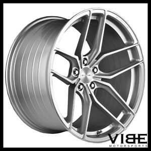 19 Stance Sf03 19x9 5 Silver Forged Concave Wheels Rims Fits Audi B8 A5 S5