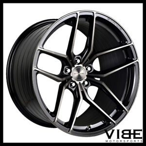 19 Stance Sf03 Black Forged Concave Wheels Rims Fits Tesla Model S