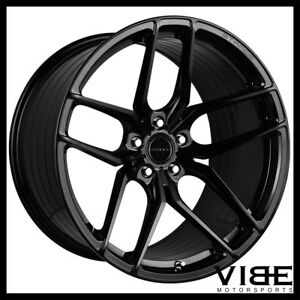 22 Stance Sf03 Gloss Black Concave Wheels Rims Fits Chrysler 300 300c 300s 300m