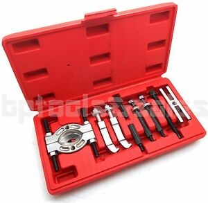 Mini 9 Pc Bearing Puller Separator Set 30 50mm Pull Out Jaw Gear Pulley Removal