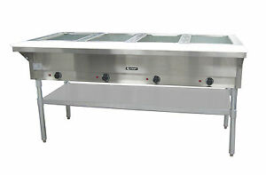 Adcraft St 240 4 4 Bay Steam Table