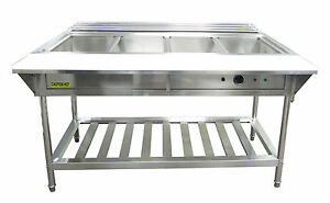 Adcraft Est 240 Water Bath Steam Table