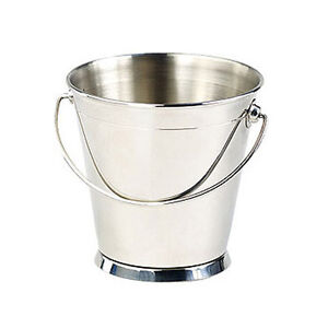 Clipper Mill Stainless Steelserving Pail 4 5x4 5inches