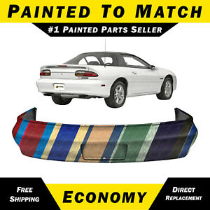 New Painted To Match Rear Bumper Cover Replacement For 1993 2002 Chevy Camaro