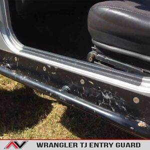 Door Sill Entry Guard Protection Fits Jeep Wrangler Tj 1997 2006 Free Ship