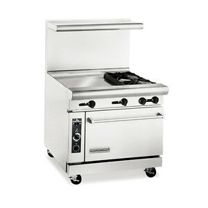 American Range Ar24g 2b Heavy Duty Gas 36 Inch 2 Burners Restaurant Range With