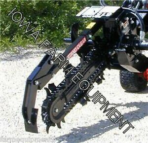 Bradco 615 Mini Skidsteer Trencher 36 x6 chain Select State Free Shp g see Dets