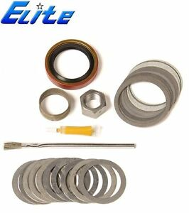 Dana 80 Rearend Elite Gear Mini Install Seal Shim Kit