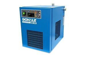Schulz Refrigerated Air Compressor Dryer 20 25 Cfm Ads20