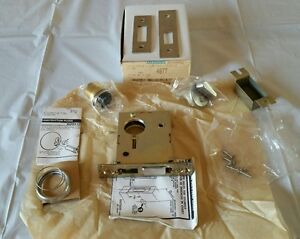 new In Box Sargent Deadlock 4877 60 42 X 26d Classroom Mortise Lock
