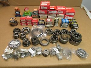 60 Lbs Large Lot Of Bearings Bushings Gears Collars U Joints Assorted