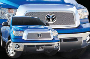 1pc Stainless Steel Fine Mesh Grille Grill E G Fits 2007 2008 2009 Toyota Tundra