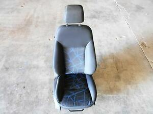 Ford Fiesta Front Seat With Air Bag Adjustable Headrest Manual Cloth Heated 11