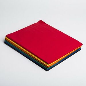 Tissue Paper Assorted Color 20 X 30 240 Sheets 1 Ream Quality Premium