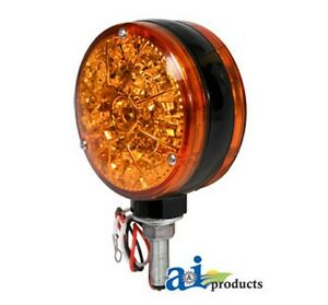 Ai 28a43 Safety Light Amber Led 12 Volt For Allis chalmers Industrial