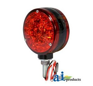 Ai 28a44 Safety Light Red Led 12 Volt For Allis chalmers Industrial co