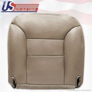 1995 To 1999 Chevy Tahoe Suburban Driver Side Vinyl Bottom Seat Cover Tan