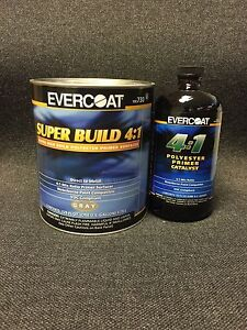 Evercoat 730 4 1 Gray Polyester Primer Dtm Super Build With Act 733 Fe 730 733