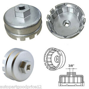Oil Filter Wrench Cap Housing Tool Remover 14 Flutes 3 8 15620 31060 For Toyota
