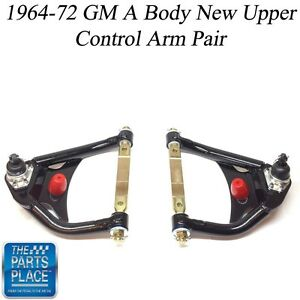 1964 72 Gm A Body New Pre Loaded Tubular Upper Control Arms Pair