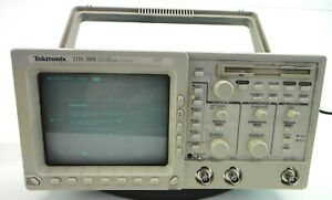 Tektronix Tds 360 2 Channel Real Time Oscilloscope tested S n B015807