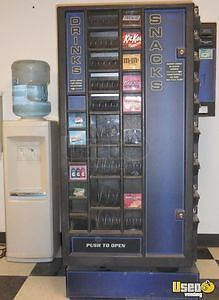 Combo Snack Drink Vending Machine With Coin Changer