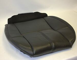 2007 To 2014 Chevy Tahoe Yukon Suburban Driver Bottom Vinyl Seat Cover Black