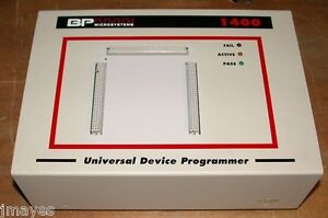 Bp Microsystems Bp 1400 Sm48d Universal Device Programmer With Bonus Socket