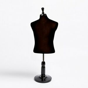New Countertop Dress Jersey Form Men s Male Black Mannequin W Base