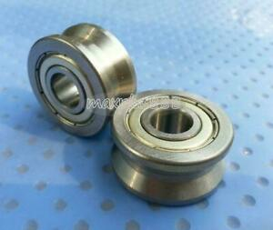 2pcs V Groove Track Roller Guide Vgroove Sealed Ball Bearing 10 30 14mm New