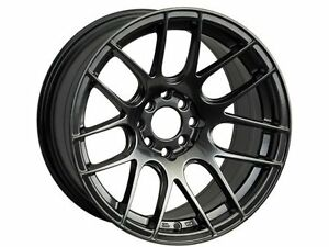 Xxr 530 17x7 Rims 4x100 114 3 35 Chromium Black Wheels Set Of 4