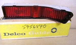 1965 Pontiac Catalina Star Chief Nos Tail Lamp Lens Right Hand 5956840