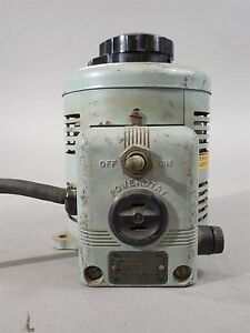 Superior Elect Powerstat Type 116 Variable Transformer 50 60 Outrange 0 135 Vac